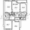 Продается квартира 4-ком 143 м² Кудряшова