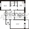 Продается квартира 3-ком 75 м² Срибнокильская