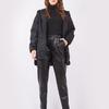 Куртка в стиле oversize (артикул 35577799/черный)