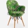 Кресло для кафе Gora-V Pad зеленый Tilia