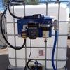 АЗС 60л/мин на еврокуб с ТОЧНЫМ итальянским счетчиком для диз топлива
