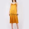 Платье-комбинация (артикул 15942151/горчичный)