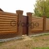 Блок хаус металлический (доска)  забор