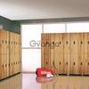 Шкафчики локеры из пластика HPL для отелей и гостиниц, тренажерных залов, переодевания персонала медцентров