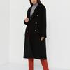 Пальто (артикул  55577799/черный) - бежевый, M