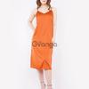 Платье-комбинация (артикул 15942151/терракотовый) - терракотовый, L