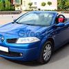 Кабриолет Renault Megane синий