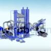 Асфальтовый завод серии LB 1000 (CP - 100)