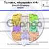 Продается квартира 3-ком 105 м² ул. Елены Пчелки, 6а, метро Позняки