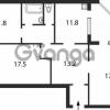 Продается квартира 3-ком 99 м² ул. Григоренко Петра, 1