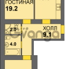 Продается квартира 2-ком 63 м² Дадаева