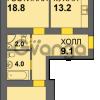 Продается квартира 2-ком 62 м² Дадаева