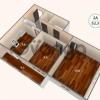 Продается квартира 2-ком 52 м² антонова ул.,1