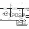 Продается квартира 2-ком 52.3 м² антонова ул.,4