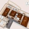 Продается квартира 3-ком 70 м² антонова ул.,2