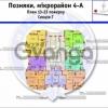 Продается квартира 1-ком 53 м² ул. Елены Пчелки, 6А, метро Позняки