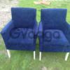 Продам крісло синього кольору бу
