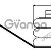 Домкрат пневматический,гофровый,воздушный на 2,5 т (4,0 т.) (Украина)