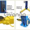 подъемник двухстоечный,электрогидравлический  привод PEAK 208 3,5т ,АКЦИЯ