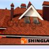 Битумная черепица Shinglas