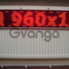 LED-панель «біжучий рядок» 1000х200 мм