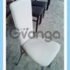 Стулья кожзам бу. Бежевые стулья для кафе бу.