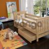 Кровать для детей Адель из массива бука