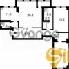 Продается квартира 3-ком 128 м² Дружбы Народов ул., д. 14\16
