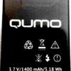 Qumo (452) 1400mAh Li-polymer