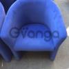 Продаются синие кресла бу для кафе, баров, ресторанов