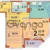 Продается квартира 2-ком 78 м² ул. Драгоманова, 4а, метро Позняки
