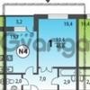 Продается квартира 1-ком 47 м² ул Совхозная, д. к6, метро Речной вокзал