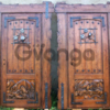 Двери под старину из массива дуба