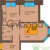 Продается квартира 2-ком 54 м² Краковский бульвар