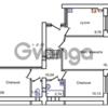 Продается квартира 3-ком 62 м² Левитана