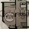 Продается квартира 1-ком 45 м² Старое Дмитровское шоссе, д. 11, метро Речной вокзал