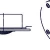 Динамик высокочастотный 5om 45w