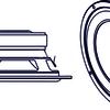 Динамик низкочастотный 7om 120w