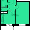 Продается квартира 1-ком 34.8 м², метро Пятницкое шоссе