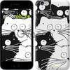 Чехол на iPhone 7 Коты v2