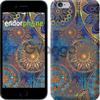 Чехол на iPhone 7 Золотой узор