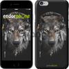 Чехол на iPhone 7 Волк-меломан