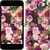 Чехол на iPhone 7 Розы и пионы