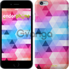 Чехол на iPhone 7 Треугольники яркие