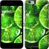 Чехол на iPhone 7 Зелёные дольки лимона