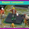 Замена чипа и видеоматрицы при ремонте ноутбуков, ПК