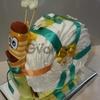Торты с памперсов