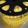 Светодиодный дюралайт 3-х жильный желтый