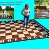 Большое шахматное поле-аттракцион для парков и дворов