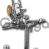 Полуавтоматический пневматический клипсатор PA-91-J (передвижной)